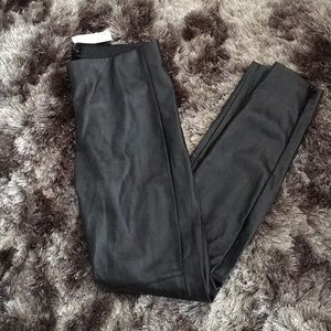 H&M Faux Leather Leggings - Size US 8